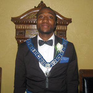Bro. Asunne A. Bennet, Junior Warden